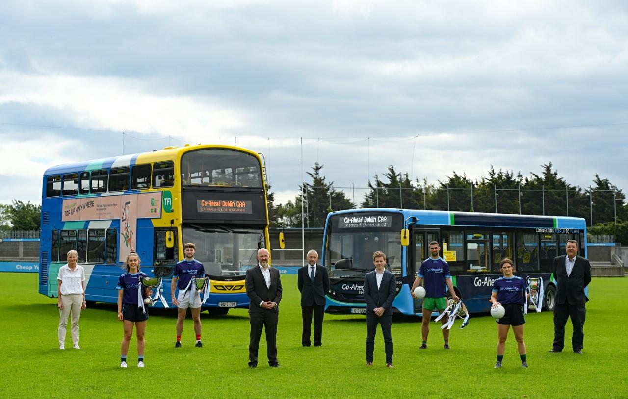 Go-Ahead Ireland and Dublin GAA on Parnell Park stadium